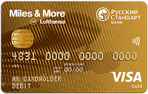 Miles & More Visa Gold Debit Card